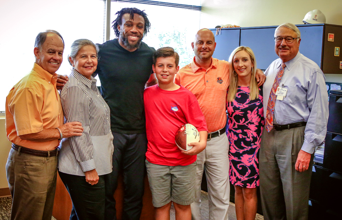 Eric Berry and the Coleman Family